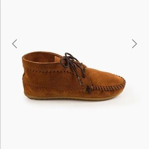 Minnetonka Suede Ankle Boot